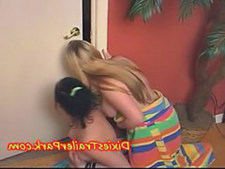 TEEN Sisters catch Brothers and a BI ORGY breaks out ...