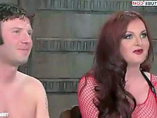 Shemale Bdsm Bdsm Fishnet Tranny