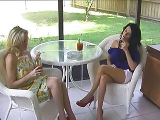 Hot Milf Cougars Smoking Sex Thr...
