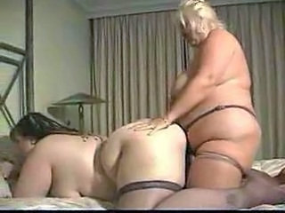 Big Busty Lesbians Fucking With A Strapon