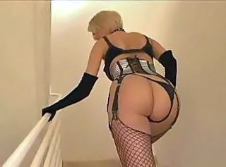 Hot blonde swallows dicks and gets them in her sweet holes before bukkake taking.