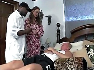 Doctor Cuckold Interracial