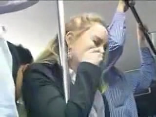 Bus Blonde Abuse