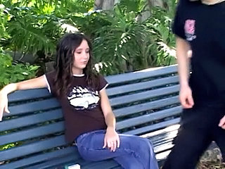 Goth Outdoor Brunette Outdoor