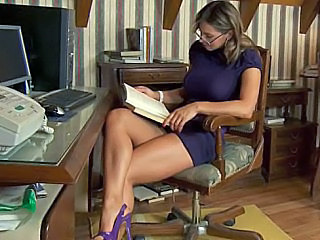 Teacher Spanish Legs Amazing Babe European Glasses Babe Ass European
