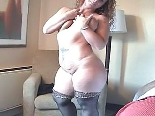 Redhead   Bbw Milf Milf Stockings Stockings