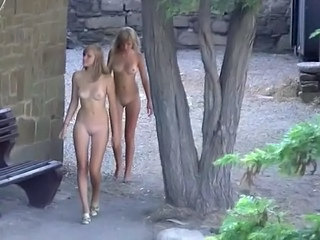 Nudist Shaved Outdoor Outdoor