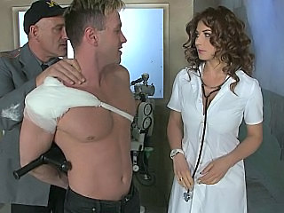 Prison Doctor Brunette Son