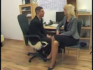 Office German Blonde German German Blonde