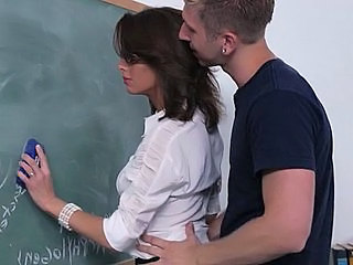 School Teacher Brunette School Teacher