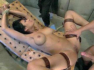 Videos from: beeg | Tied, Fucked And Received 2 Faci...