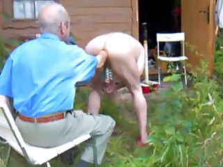 Granny Insertion Older Insertion Outdoor