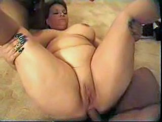 Videos from: pornoxo | Busty Fat Mom Shared Between Cocks