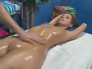 Oiled Shaved Cute Cute Ass Massage Oiled Massage Pussy