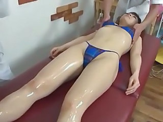 Oiled Massage Bikini Bikini Japanese Massage Massage Asian
