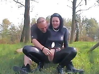 Outdoor Fetish Leather Outdoor