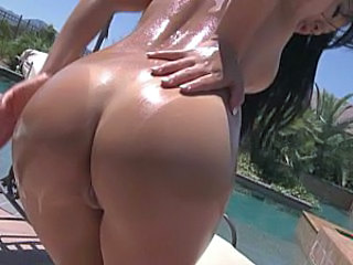 Oiled Ass Outdoor Pool Oiled Ass Outdoor