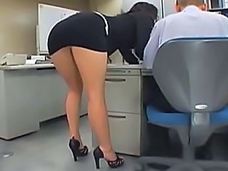 Upskirt Asian Japanese Legs Office Secretary Upskirt