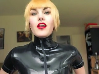 Fetish Latex Piercing Swedish