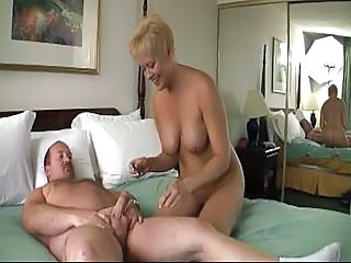 Hotel Room Hardcore Sex With Blonde And Her Man