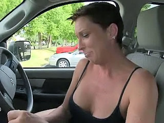 Brunette Car Gloryhole Outdoor Outdoor Mature