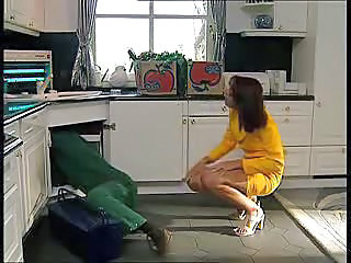 Videos from: tubewolf | Plumber Gets To Fuck The Hot Housewife