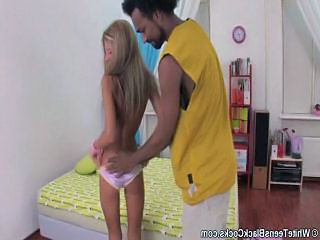 Skinny Interracial Blonde Amateur Amateur Teen Blonde Interracial