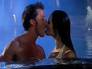 Erotic Kissing Pool Vampire