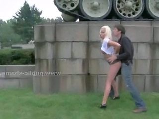 Cash Public Blonde Outdoor Prostitute Public