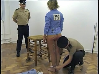 Prison Threesome Uniform Son Threesome Blonde
