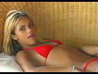 Suntanned Blonde Being Fucked On A Sofa