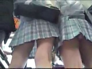 Schoolgirl Molested On Public Bus Part 1