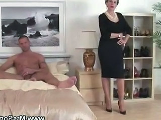 Cheating Wife Sucks Cock While B...