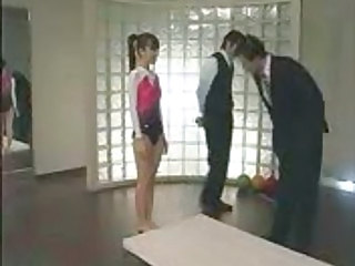 Flexible Amateur Japanese Abuse Amateur Gym