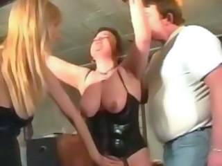 Plump mature slut loves BDSM games as she
