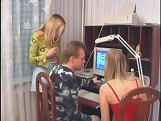Daddy Russian Twins Cute Blonde Daddy Family