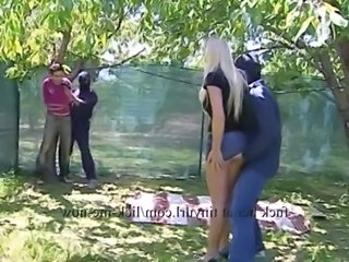 Forced Groupsex Outdoor Pornstar Blonde Hardcore  Forced Outdoor