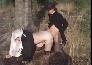 Outdoor Uniform Vintage Daddy Outdoor Ebony Babe
