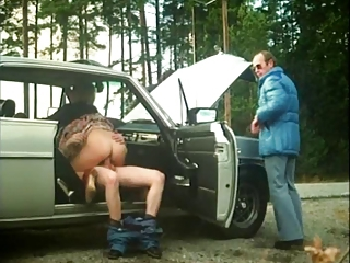 Car Clothed Cuckold Outdoor Wife Riding Ejaculation