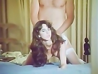 Vintage Long Hair Doggystyle Doggy Teen Hardcore Teen Stockings