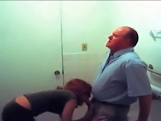 Toilet Teacher Clothed Caught Old And Young Teacher Student