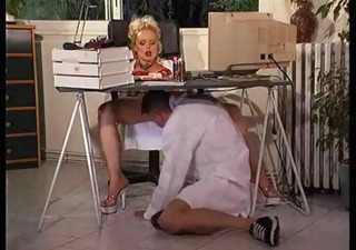 silvia saint - an office day