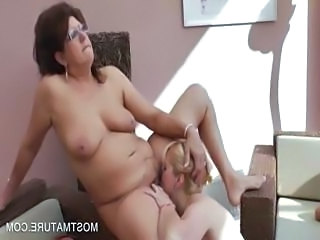 Licking Glasses Lesbian Ass Licking Chubby Ass Chubby Mature