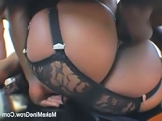 Ebony Lingerie Hardcore Ebony Ass Huge Huge Ass