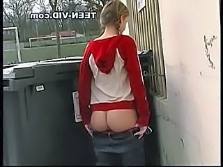 Pigtail Ass Outdoor Outdoor Outdoor Teen Pigtail Teen