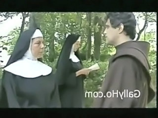 Nun Threesome Vintage Mature Threesome Outdoor Outdoor Mature