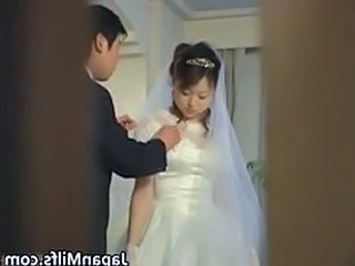 Bride Japanese Asian Asian Teen Group Teen Hardcore Teen