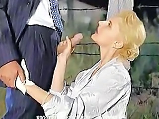 Clothed Handjob MILF Outdoor Ejaculation
