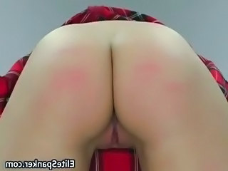 Cute schoolgirl chick gets her beautiful part5