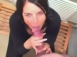 Handjob Fellation Brunette Fellation Milf Fellation Point de vue Milf Blowjob